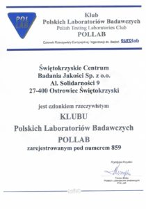 The Club of Polish Laboratories POLLAB